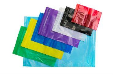 Пакеты полиэтиленовые с замком цветные
