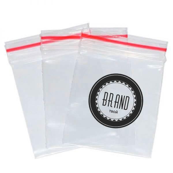 зип пакет с логотипом